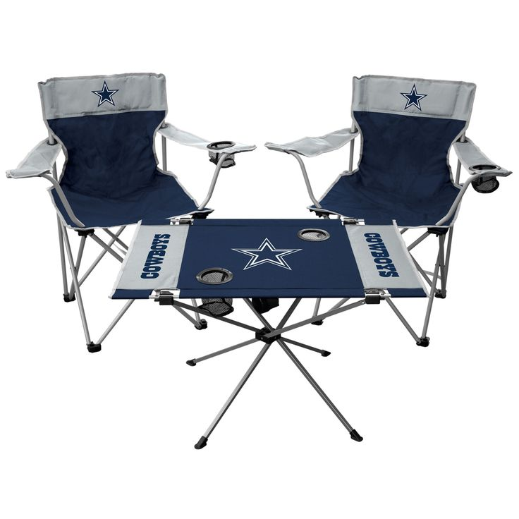 Dallas Cowboys Tailgate Chair & Table Set