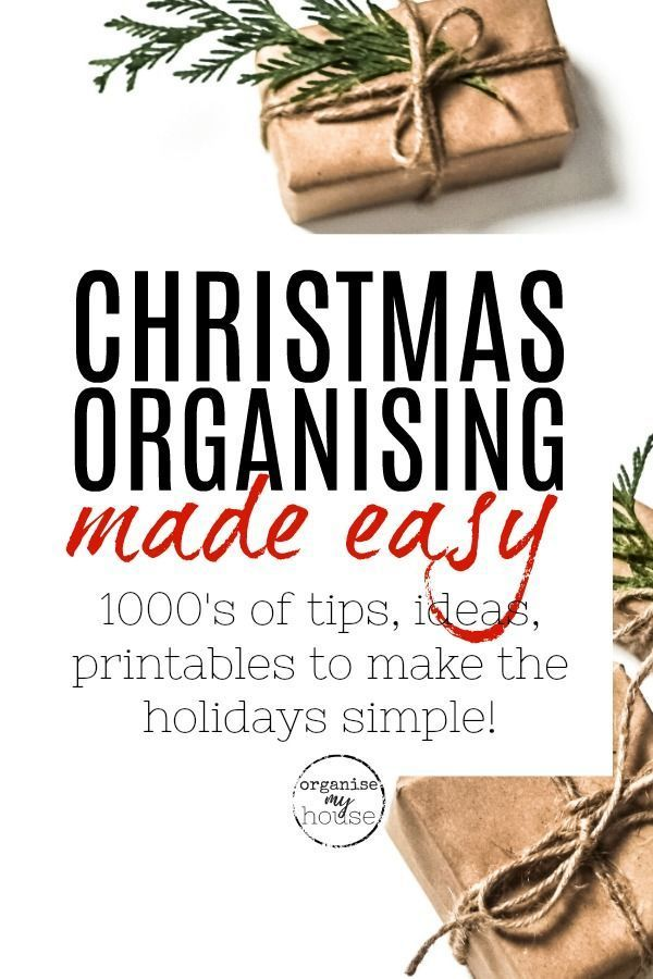 Make Christmas easy with these amazing articles on all things