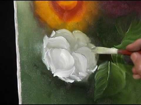 PINTANDO ROSAS COM WALDIR CATANZARO (PARTE 2) - YouTube