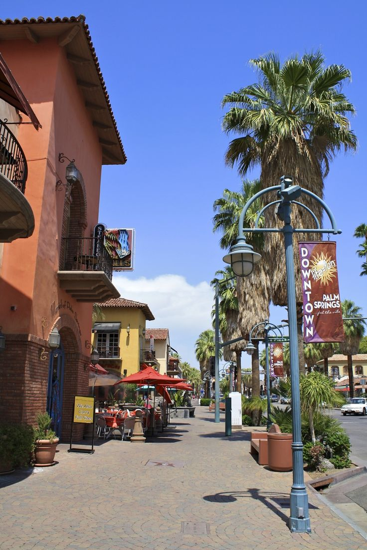 Palm Springs, California downtowndowntown. Can't wait to go here with my best friend (sister) and momma :-)