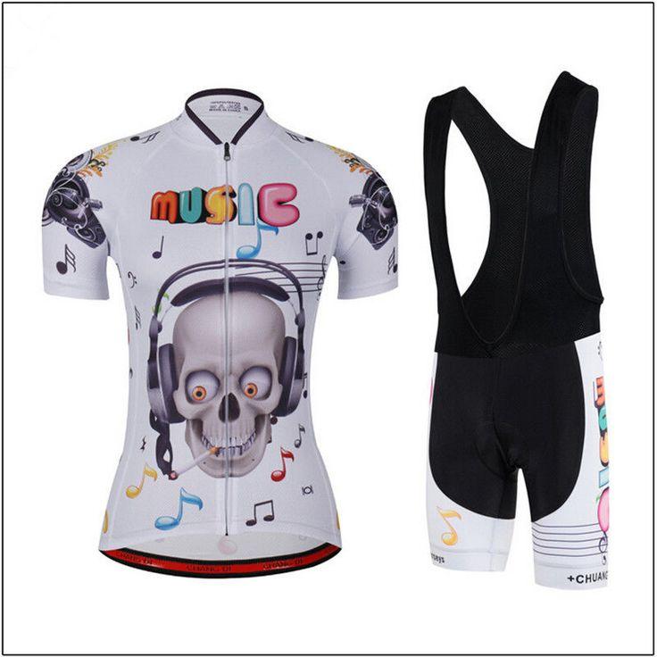 2017 Women's Cycling Clothing Sportswear Bike Jersey & Pants Bib Shorts Wear Set #Unbranded