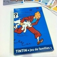 Tintin Happy Families Card Game