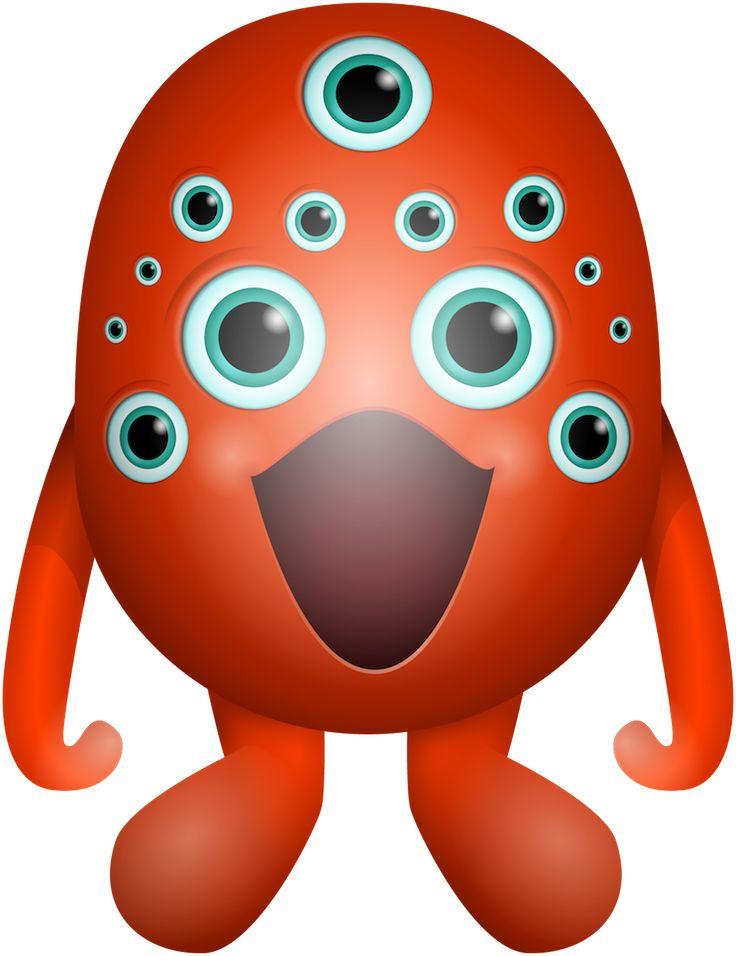 Griezelig leuke monsters voor de Kinderboekenweek.