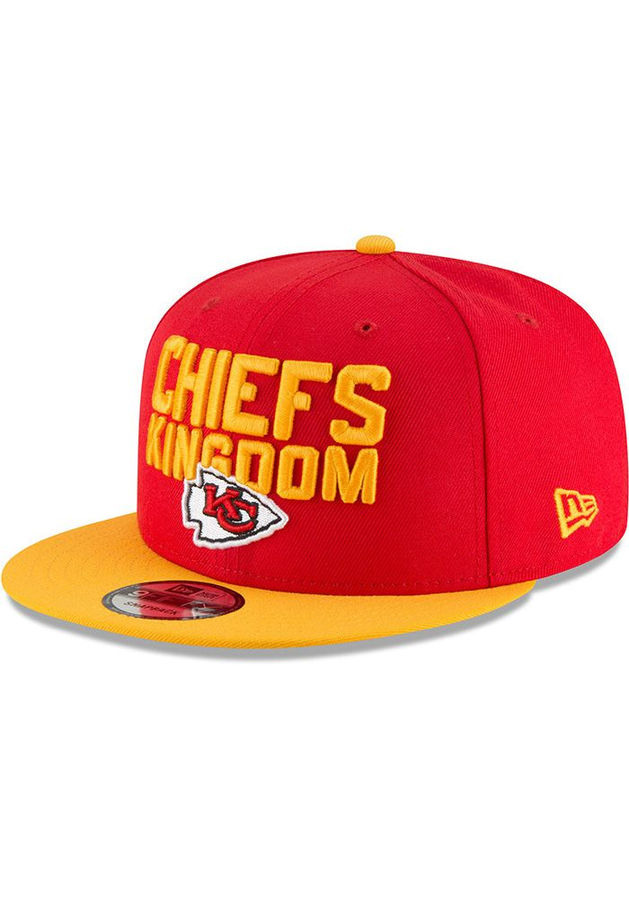 low priced 86300 23c39 New Era Kansas City Chiefs Red 2018 Spotlight Draft 9FIFTY Youth Snapback  Hat