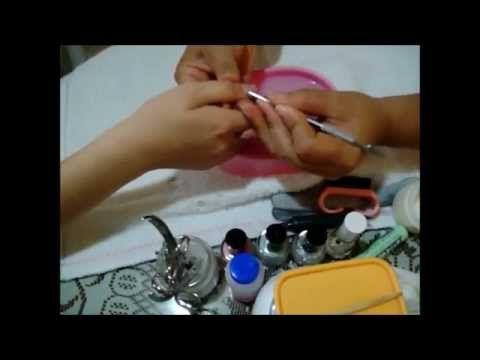 134.- DIY Como Realizar un manicure ( manicura ) profesional Iztac Madrigal - YouTube