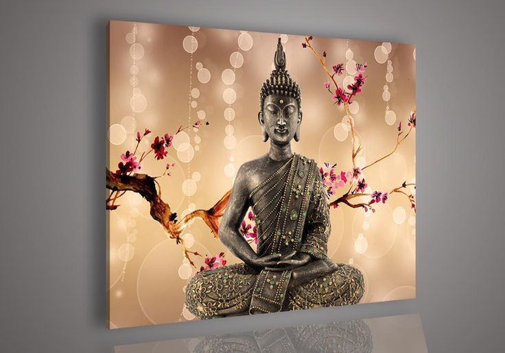 Religion Buddha Wall Art Oil Painting On Canvas Paint Living Room Painting No Frame