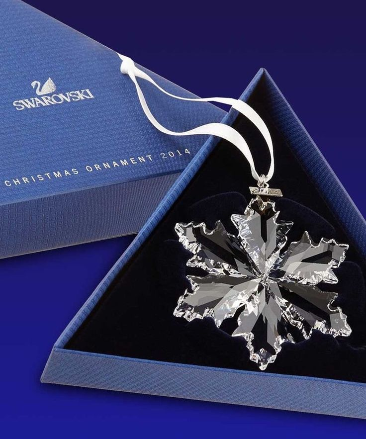 SWAROVSKI Annual Edition 2014 Crystal SNOWFLAKE Ornament GENUINE NEW