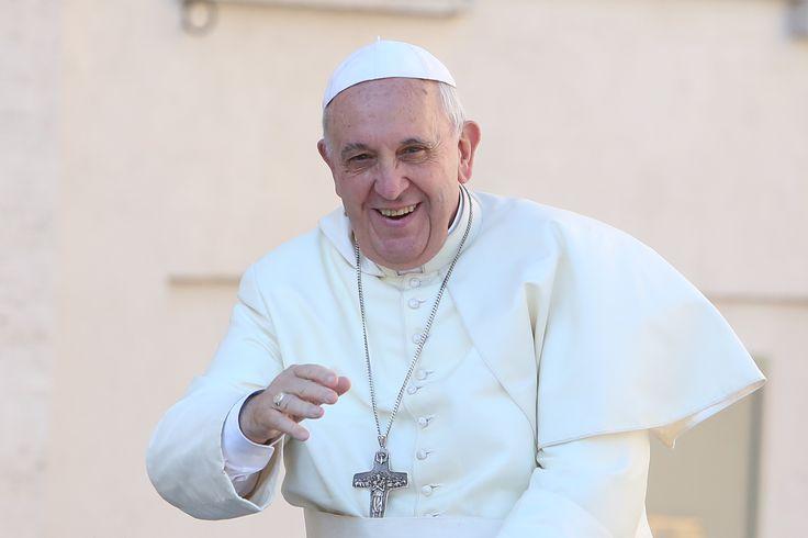 #PapaFrancisco durante una #AudienciaGeneral en el #Vaticano #Iglesia #Catolico  Foto: Daniel Ibáñez/ ACI Prensa