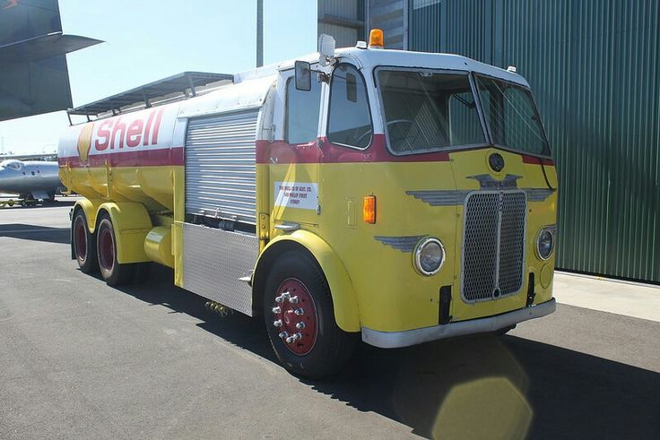 Classic Leyland Shell Aviation fuel truck