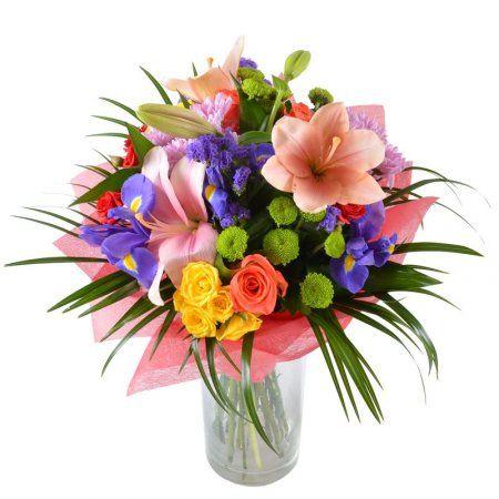 Букет+цветов+Радужный