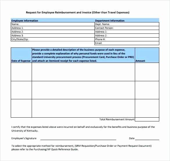 Travel Expense Reimbursement Form Template Unique Expense Form Template Excel Travel Claim Miyamufo Excel Templates Templates Business Plan Outline