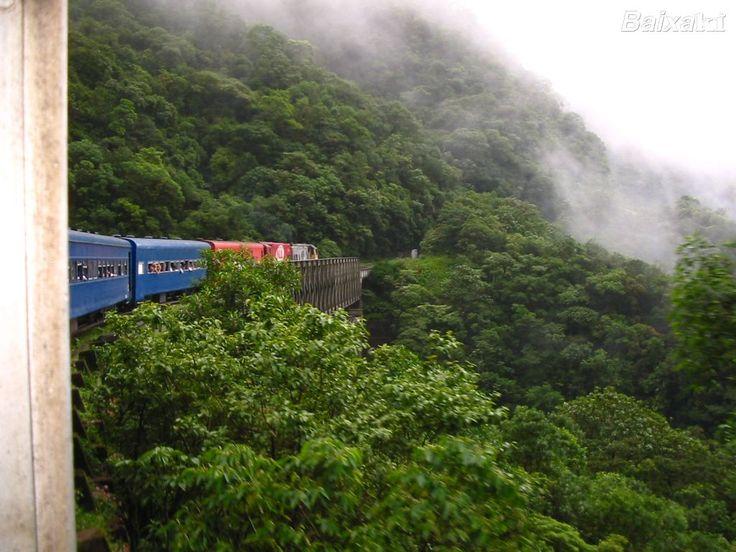 Trem Curitiba-Morretes