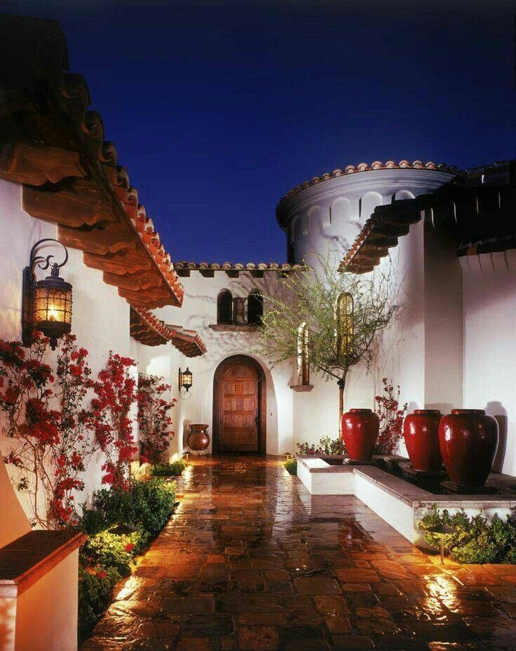 64 Best Spanish Style Houses Images On Pinterest | Architecture, Facades  And Spanish Bungalow