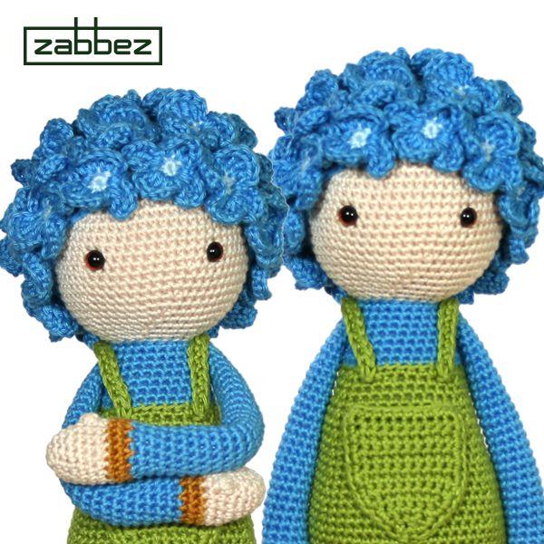 Amigurumi Flower Doll : 134 best images about Zabbez crochet flower dolls on ...