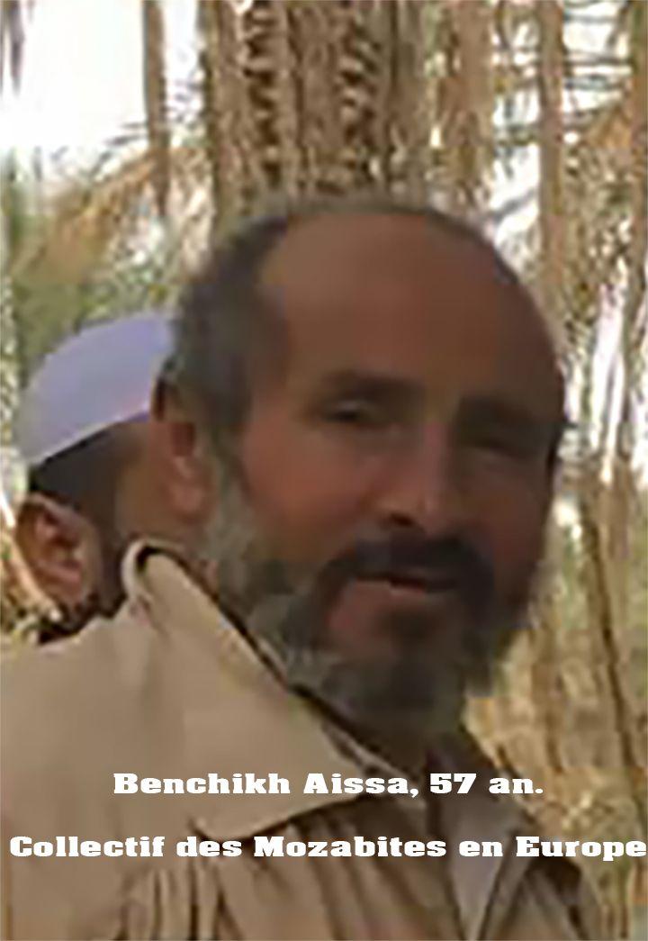Benchikh Aissa, 57an, originaire de Qsar El Guerara est décédé, hier jeudi, à la prison de Ghardaïa, suite à une dépression nerveuse. « Benchikh Aissa est mort des suites d'une dépression nerveuse…