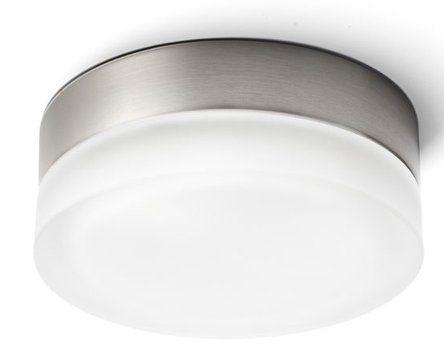 TUOMO stropní svítidlo pr.285mm, 2x28W, E27, 230V, sklo/nikl : SAPHO E-shop