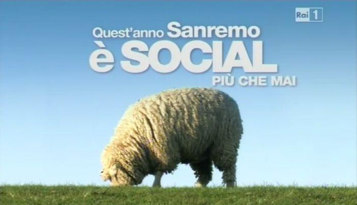 Quest'anno Sanremo non è poi così tanto social