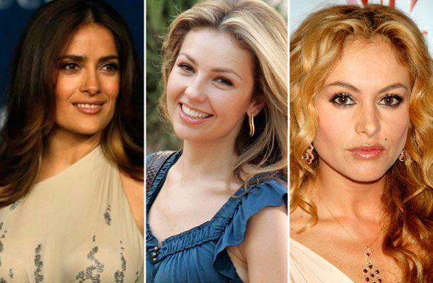 Las celebridades mexicanas más ricas