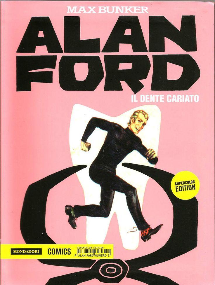 ALAN FORD SUPERCOLOR EDITION N. 2 ED. MONDADORI COMICS