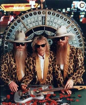 A 'little' Texas band......ZZTOP. Seen them in concert.  Worth every single penny. Every single time.