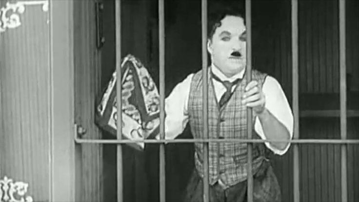 'Stomme film' Charlie Chaplin: 'Leeuwenkooi'