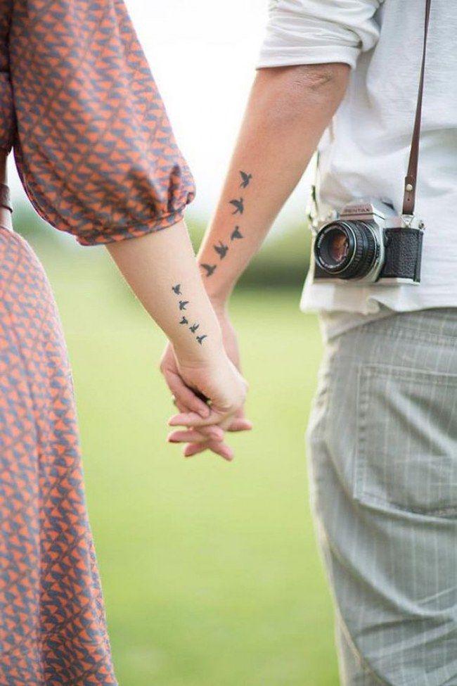 Die besten PAAR-TATTOOS für Verliebte! Welche Tattoo Motive sind gerade Trend? Welche Tattoos sind außergewöhnlich? Hier lesen: http://www.gofeminin.de/liebe/paar-tattoo-s1488425.html