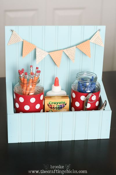 Super Cute Idea - could be used for so many things! Need.one.now!
