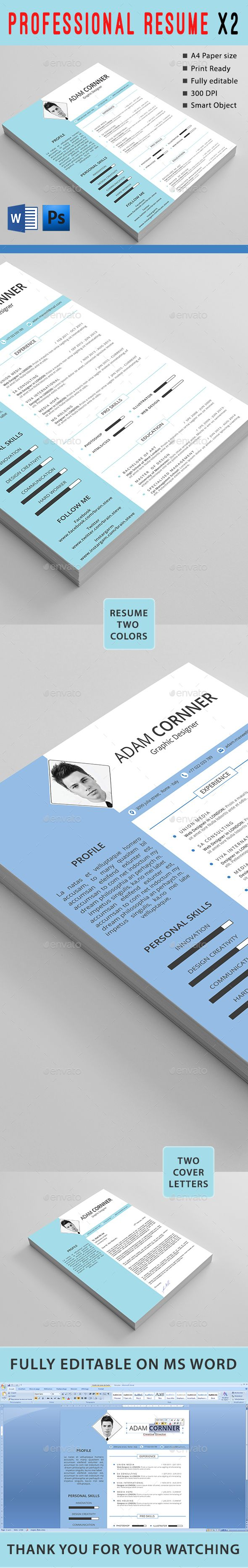 25 best Resume/CV Templates images on Pinterest | Cover letter ...