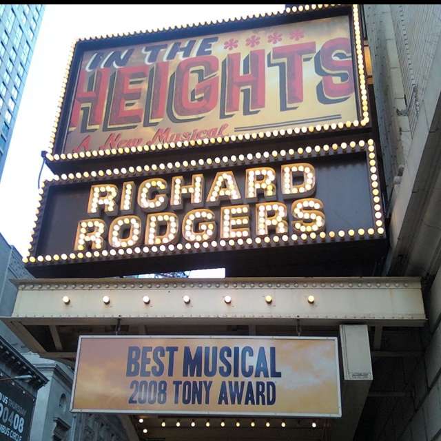 Lights up in Washington Heights... I love this musical!
