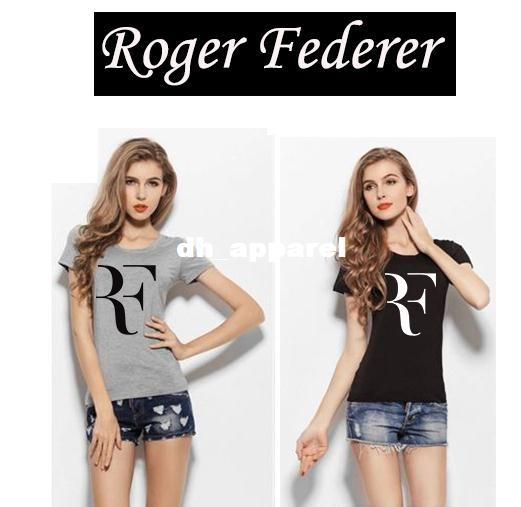 Summer New Roger Federer Shirt Women Fashion Apparel Woman Clothes ...