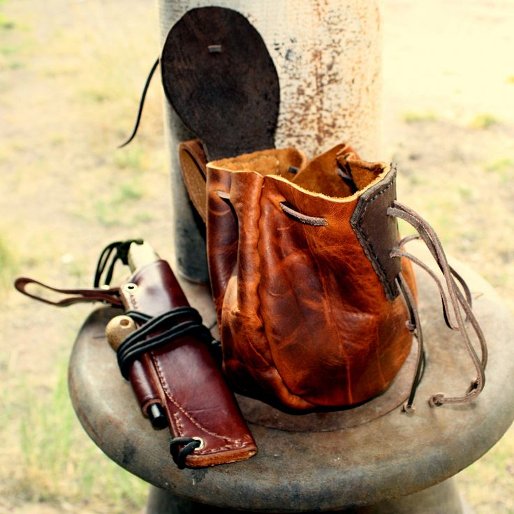 beautiful bushcraft possibles pouch by dog breath