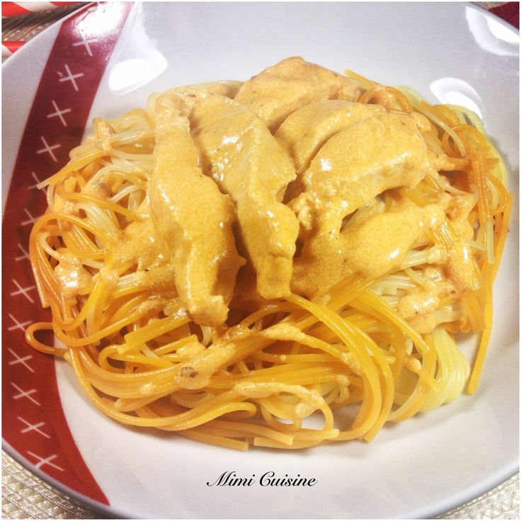 Lamelles de poulet sauce Mascarpone à la tomate #Companion - Mimi Cuisine