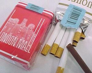 chocoladesigaretten met Sinterklaas