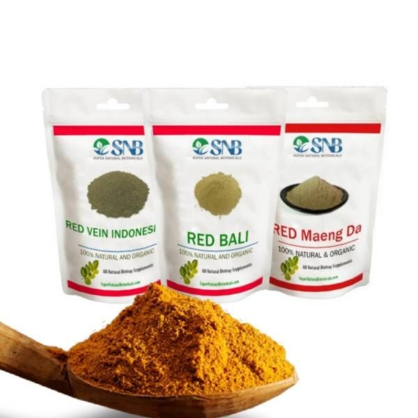 The red vein Kratom pack will allow you to buy all three red Kratom strains in a single order. It includes Red Maeng Da, Red Bali & Red Vein Indo.