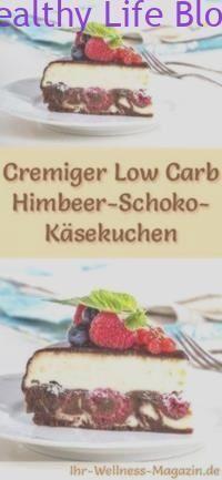Cremiger Low Carb Himbeer-Schoko-Käsekuchen – Rezept ohne Zucker 8938d61c07ee361b9a0189e71cef1391