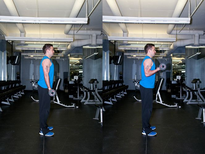 Barbell Curl: Look inside #PFL90 for the description of this effective #bicepsexercise and more by visiting PFL90.com