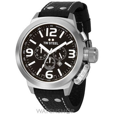Men's TW Steel Canteen Chronograph 50mm Watch