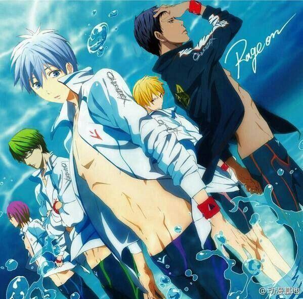 Kuroko no Basket | Free... omg yessss!!!!!: