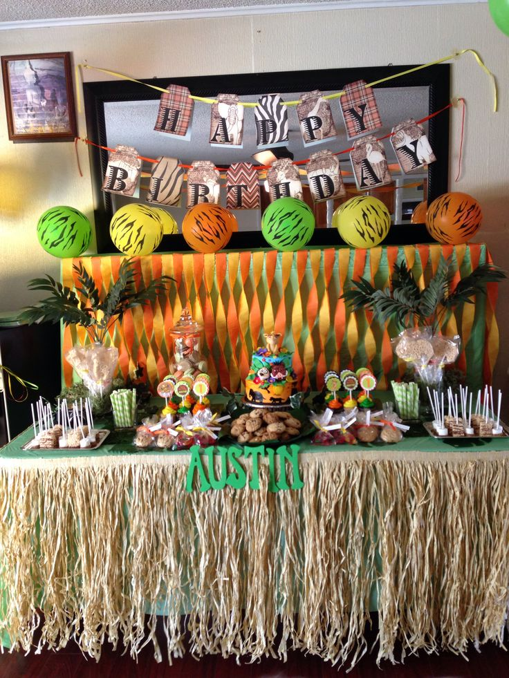 Lion king theme birthday lionking DIY Pinterest