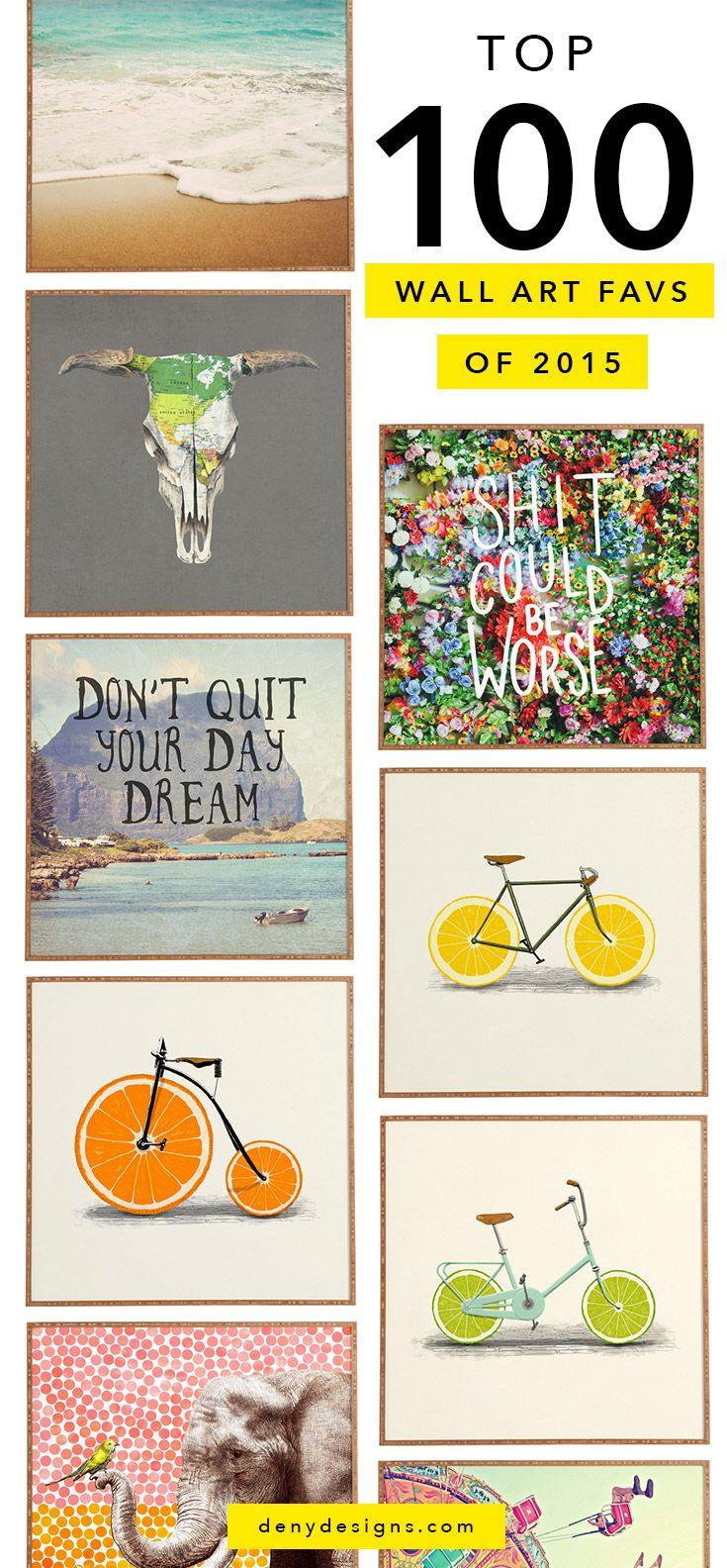 trendy jewellery Favorite wall art from   to make the best gallery wall EVER
