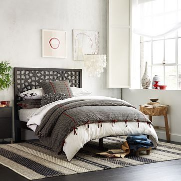 Morocco Headboard - Chocolate #westelm