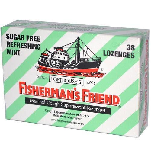 Fisherman's Friend Lozenges Sugar Free Mint Ctr Dsp (6x38 Count)