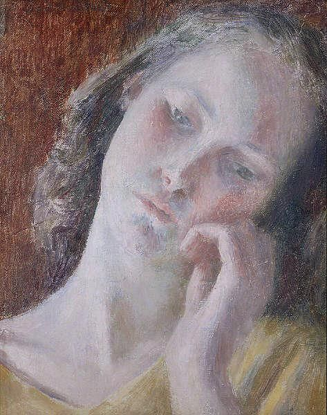 dod procter | Girl's Head by DOD PROCTER - Peter Nahum At The Leicester Galleries