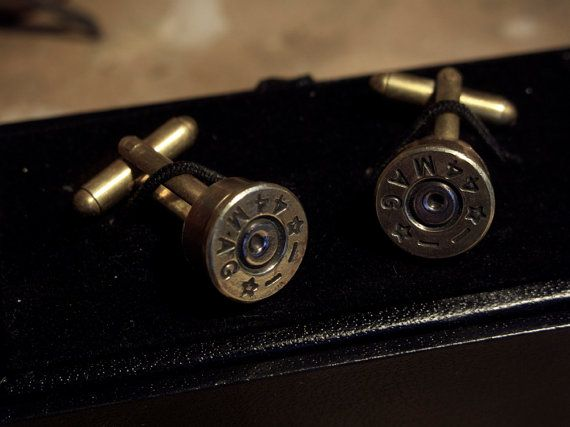 Dirty Harry Cufflinks by RSJSStudios on Etsy, £25.00