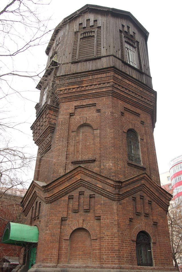 chelchel_ru: Водонапорная башня на ул. Воровского