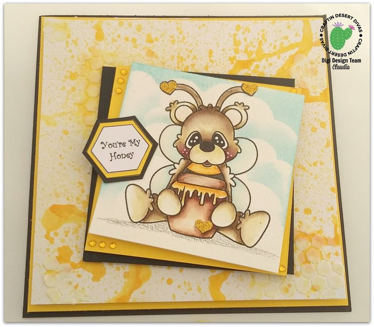 Ioscrap: You are my honey! _ DT Craftin desert diva