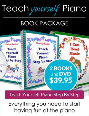 Teach Yourself Piano Book Package
