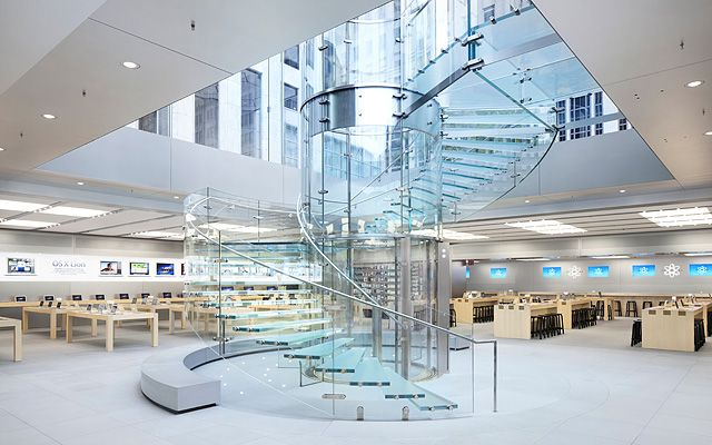 Fifth Ave Apple Store in NY