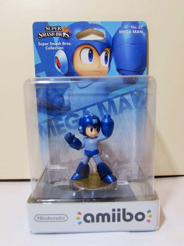 Nintendo Amiibo Super Smash Bros No 27 Mega Man Brand New