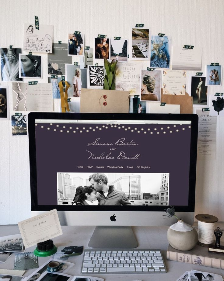 How and Why to Create a Wedding Website